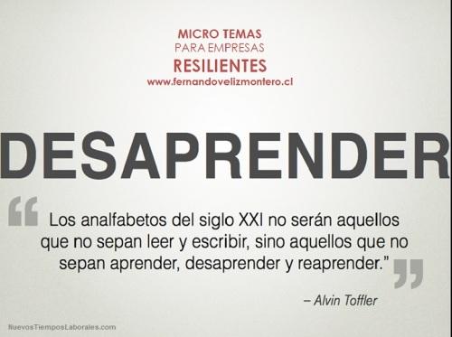 MicroTemas Empresas Resilientes - Desaprender